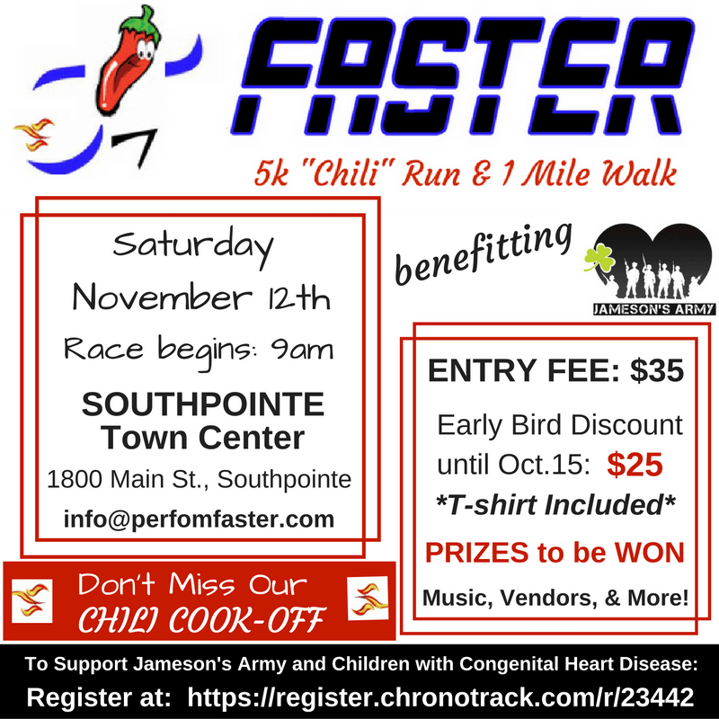FASTER Fitness Chili Run
